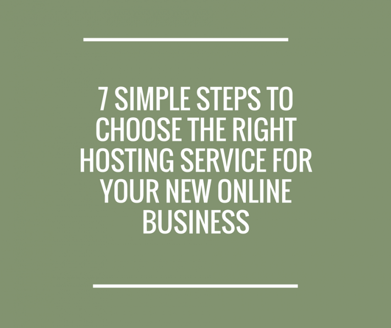 How to choose the right hosting service